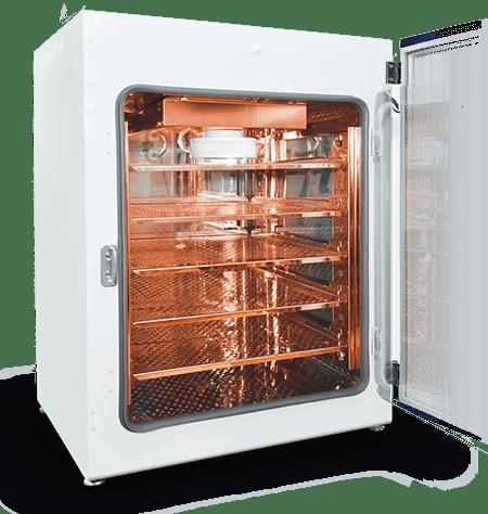 CO2 Incubator with 100% Copper Interior