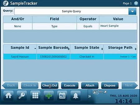 SampleTracker