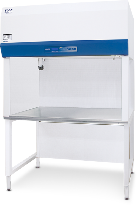 Airstream® Gen 3 Horizontal Laminar Flow Cabinet - Stainless Steel Side Wall, Fixed Sash