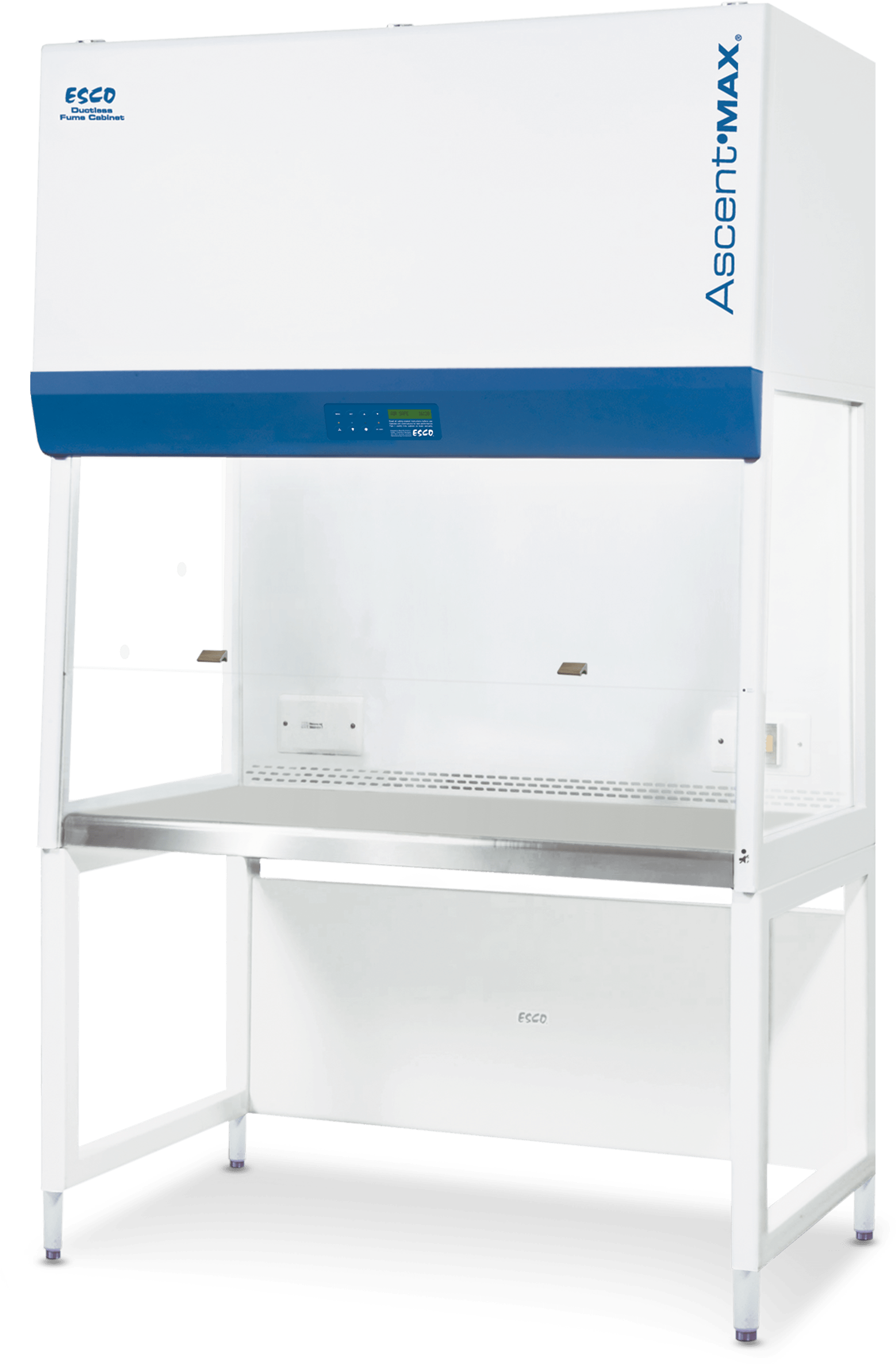 Ascent® Max Ductless Fume Hood - With Secondary HEPA Filter (E-Series)