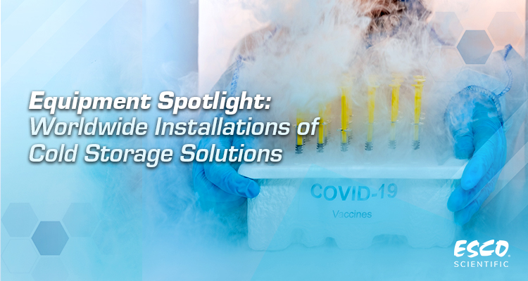 Worldwide Installations of Cold Storage Solutions