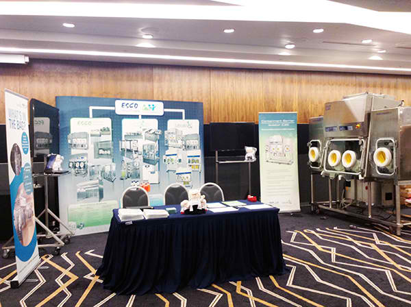 Esco Healthcare showcases at the Singapore Pharmacy Congress