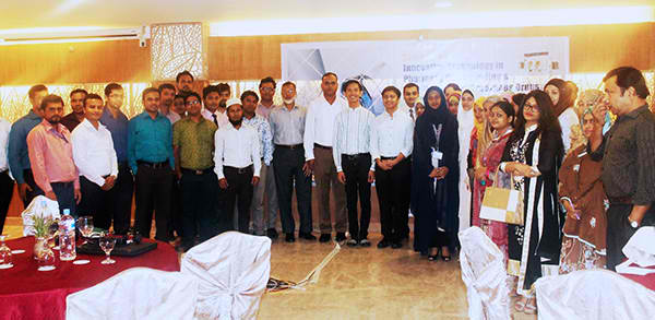 Innovation Technology Seminar in the City of Rickshaws, a Success!