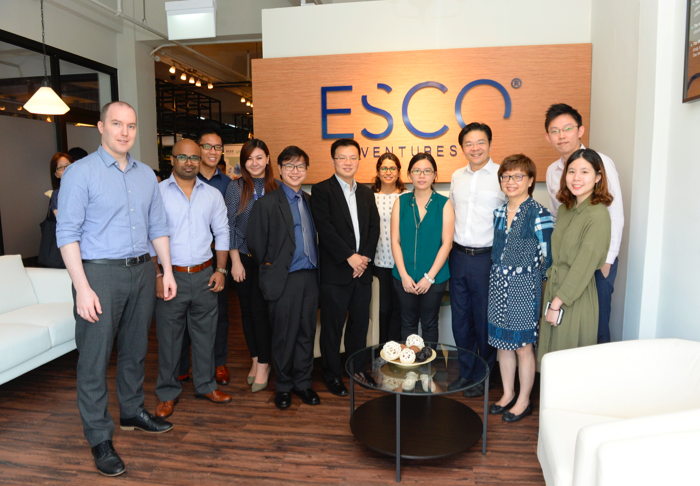 Ministerial visit to Esco