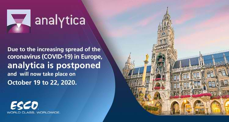 Let's Talk Science: Join Esco at the Analytica 2020!