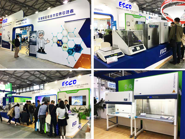Esco moments at Analytica China 2016