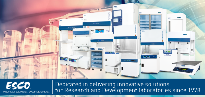 Esco Gives You Innovative Solutions for Your R&D Lab