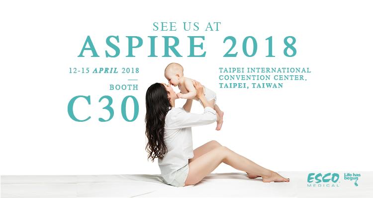 Verpassen Sie nicht Ihre Chance, uns auf der ASPIRE 2018 zu treffen