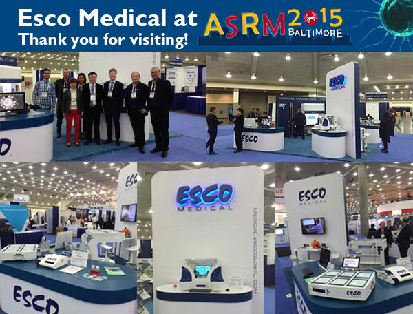 Esco Medical at ASRM 2015