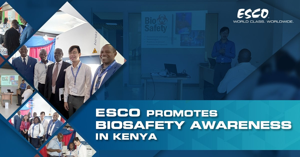 Esco Promotes Biosafety Awareness in Kenya