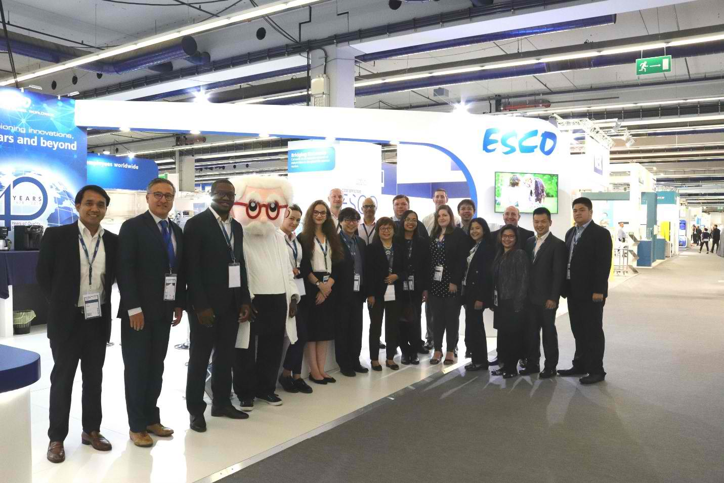 Esco goes to ACHEMA 2018 in Frankfurt, Germany