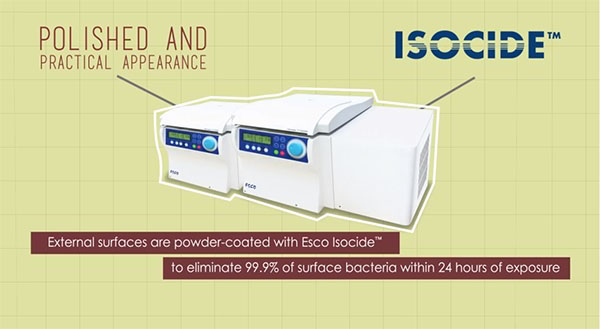 Esco's new family member: The Versati™ Centrifuge