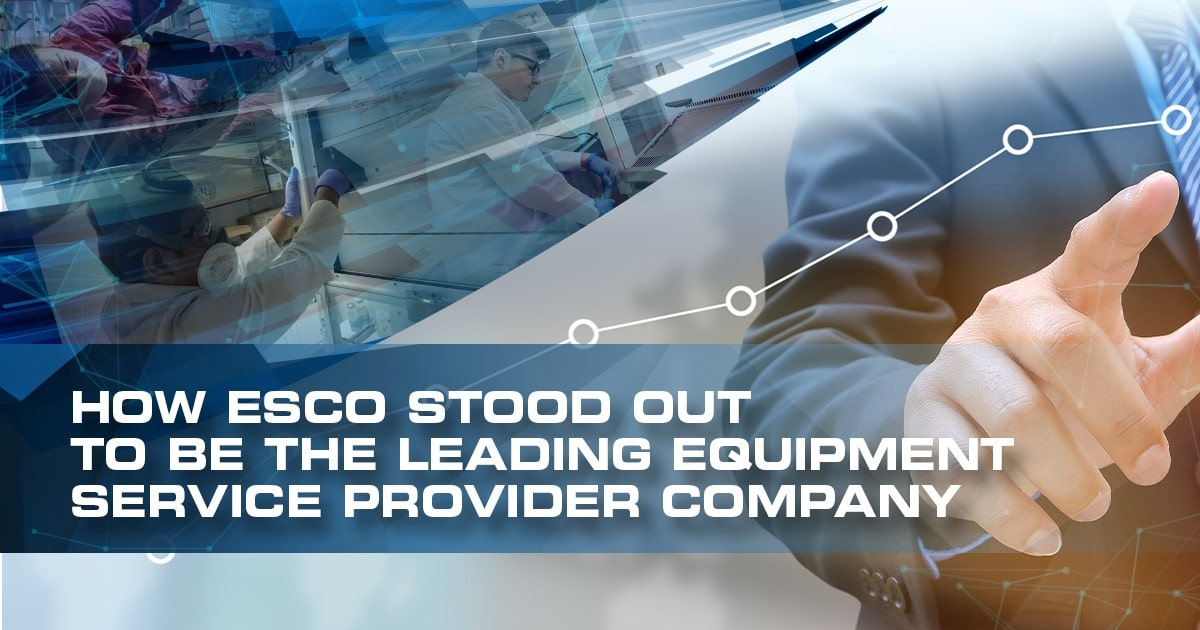 How Esco stood out to be the Leading Equipment Service Provider Company