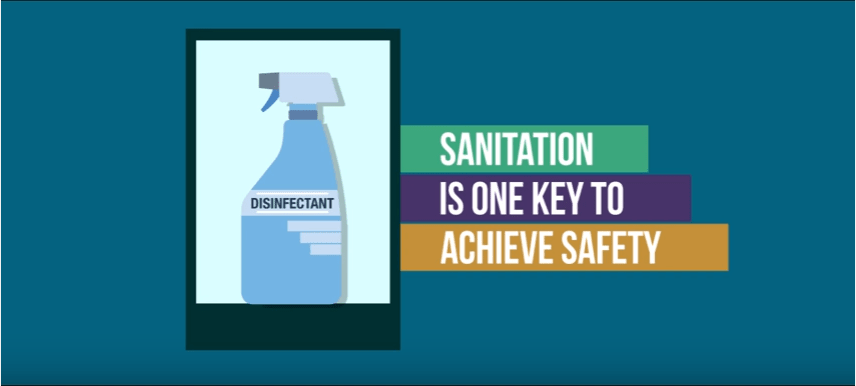 Sanitation is One Key to Achieve Safety