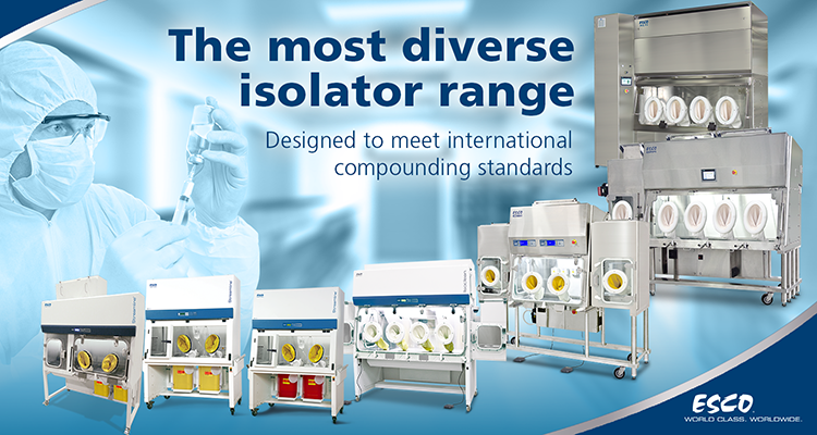 Streamline® Compounding Aseptic Containment Isolator (Total Exhaust)