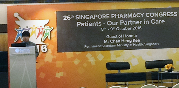 XL Lin, Global President, Esco Healthcare on his lecture about Manual to Automatic Pharmacy Compounding